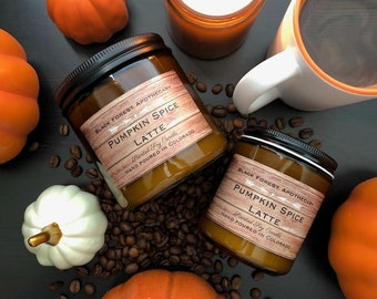 Pumpkin Spice candle, Fall candle, Coffee candle, Halloween candle, Pumpkin Spice Latte, Halloween, Autumn candles, Coffee, Fall, pumpkin