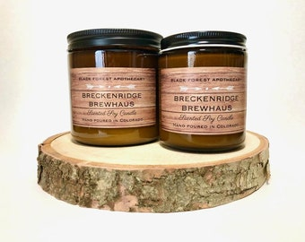 Beer candles, Gifts for Him, Soy Candles, Mens, Ale, Cheers, Celebrate, Colorado, Breckenridge, Oktoberfest, Drinks