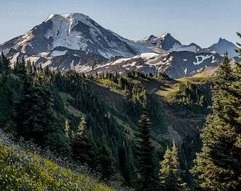Landscape Fine Art Photography, Mount Baker, Nature, Pacific Northwest, Washington