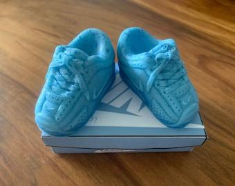 """Custom Sneaker """"It's a Boy"""" Blueberry Soaps"""