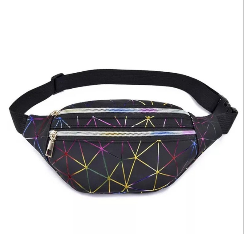 HOLOGRAPHIC FANNY PACK image 0