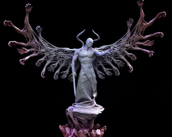 Afflicted Celestial   The Light Corrupted   Miniature Dungeons and Dragons   Pathfinder   Mini Monster Mayhem   Display/RPG
