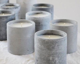 Concrete Candle Jar Vessel Mold Resin Terazzo Concrete Tray Mold Round Square Flowere Pot Molds Jesmonite Base Resin Molds Casting Moulds