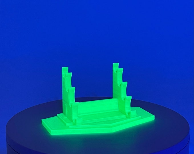 Translucent Series: Quad Tier Dab Tool Rack / Stand