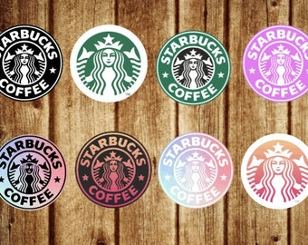 Starbucks Cardstock Cutouts for Freshies