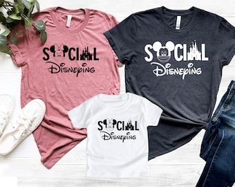 Social Disneying Shirt, Disney Shirt, Disney Family Shirts, Cool Mickey Shirts, Disney Family Vacation Tee, Disney World Shirt, Disney 2021