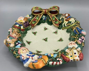 Fitz and Floyd for all Seasons Lily Of The Valley  Plate