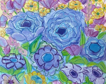 Painting Mixed Media Abstract