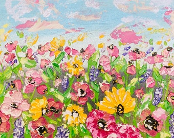 Abstract Painting 'Sprinkle Of Spring'