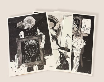 Pack of 3 A5 Art Prints | Anonymous Sex Vol. 1 Illustrations