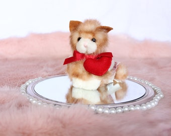Itty Bitty Love, Russ Berrie - Ginger cat