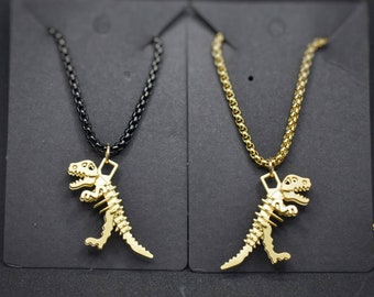God Creates Dinosaurs-Chain Necklace