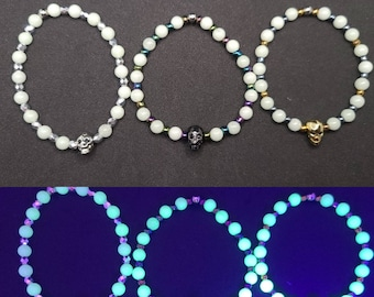 That's The Illusion!- Glow in the Dark Beaded Bracelets