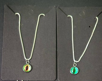 Do-You-Think-He-Saurus? Eye Necklaces (Multiple Styles)
