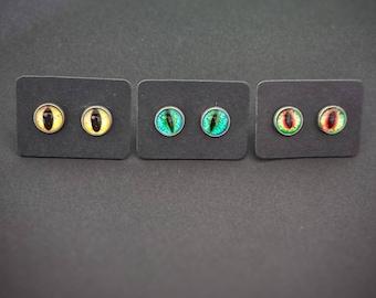 Do-You-Think-He-Saurus? Stud Earrings (Multiple Colors)