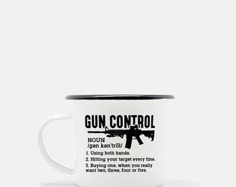 F K Gun Control Coffee Mug