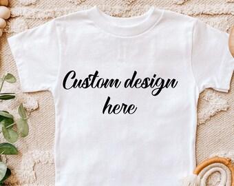 Custom Kids Shirt, Personalized Shirts for Kids, Birthday Shirts for Kids