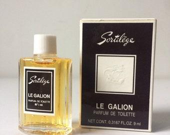 SORTILEGE By Le Galion Parfum de Toilette Vintage miniature 9 ml