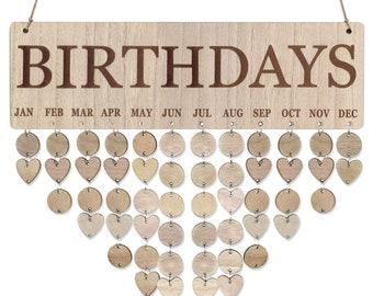 Hanging Wooden Calendar | Wall Calendar for Home Decoration