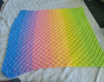 100% Cotton Baby Blanket Towel Doilies Cloth Carpet