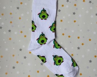 UK Seller Flamingo Socks Happy Funny Socks Personalized Gift Socks  Unisex Socks Spring Collection 2021