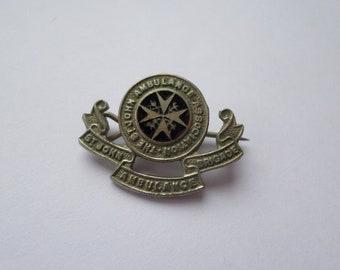 Black Gray Faux Hematite Statement Pin Vintage St John Large Brooch