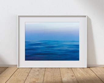 DUSK NO.1 -  Long Exposure In Water Seascape, Cullercoats Bay, North East England. Photographic Giclee Print A4, A3, A2.