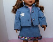Denim Doll Clothes