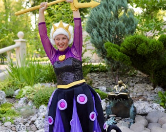 Ursula the Sea Witch adult costume for halloween