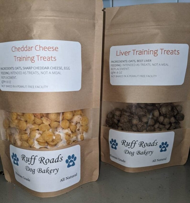 Dog Training Treats  All Natural  Homemade  High Value  image 0