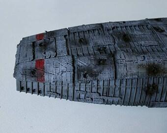 3D printed Battlestar Galactica model