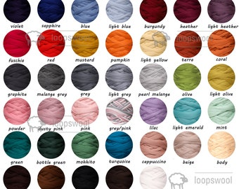 100% Merino Wool Chunky Yarn SALE  Roving For Arm Knit Bulky Giant Yarn For Chunky Knit Gift For Mom