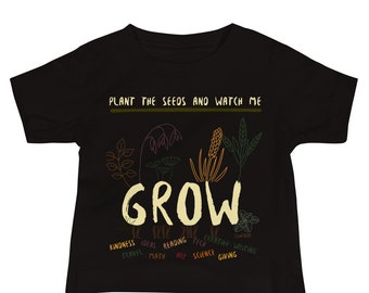 Plant The Seeds Baby Jersey Short Sleeve Tee