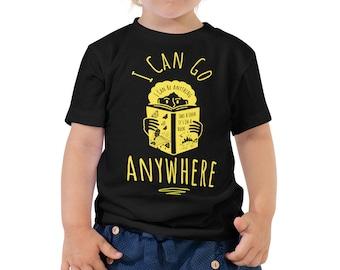 I Can Go Anywhere Kids Reading Tee