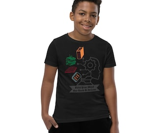 Build Your Mind Youth Short Sleeve T-Shirt