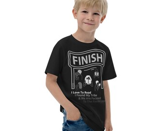 Focus To The Finish Line Youth Jersey T-Shirt