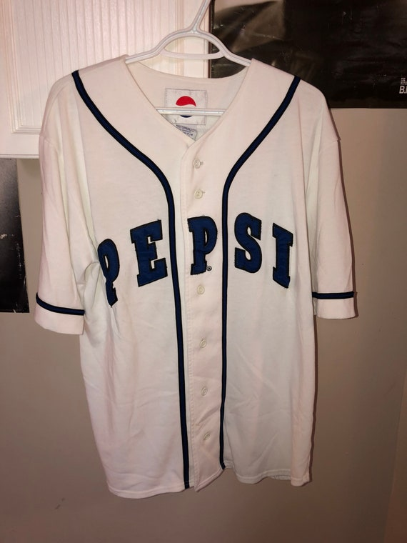 Vintage Pepsi Baseball Jersey