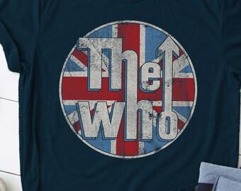 The Who Couleur Bande Flipper Officiel Tee T-shirt pour homme