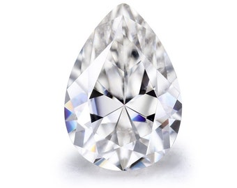 Colorless Moissanite