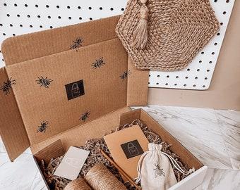 Crochet Bag Kit // DIY Crochet Bag Kit // Crochet Shoulder Bag Pattern & Supplies