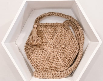 The Honeycomb Bag in Natural