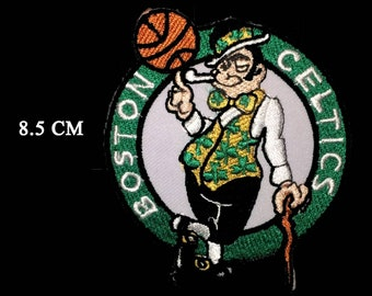 Boston Celtics patches logo iron on sewing on clothes