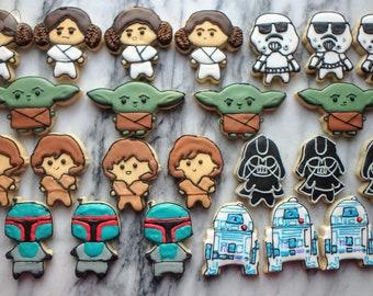 Mini Star Wars Cookies