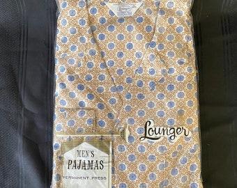 Vintage Lounger men's pajamas
