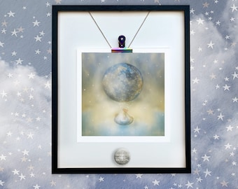 New Baby print /New Arrival print/Baby Room,Print /Welcome Little One  My World /Balloon /Photo Art Dianne Owen