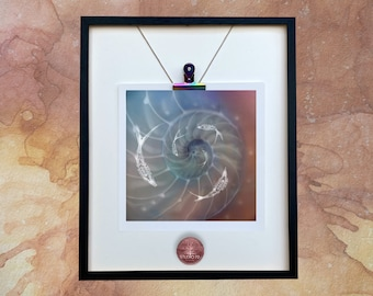 Spiral Of Time /New Age Print/Unmounted Spiral Print/Spirals/Spiral Mini Print/Spiral Digital Art/ Spiral, Photo Art/Card/ Dianne Owen/