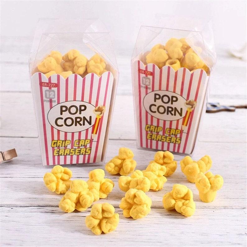 Popcorn Pencil Erasers image 0