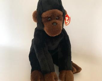 Monkey Teddy collectible toy monkey Pollyanna little creamy monkey