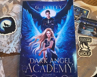 Dark Angel Academy Signed Paperback by G. Bailey