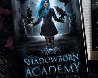 Signed Paperback of Shadowborn Academy by G. Bailey/Scarlett Snow + Free Swag